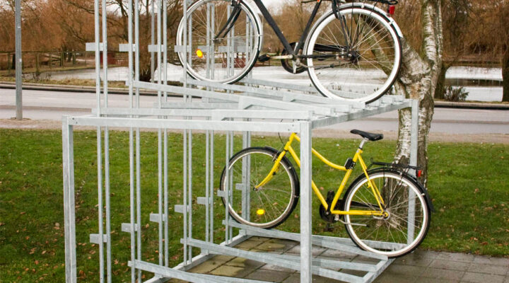 DOUBLE cycle rack