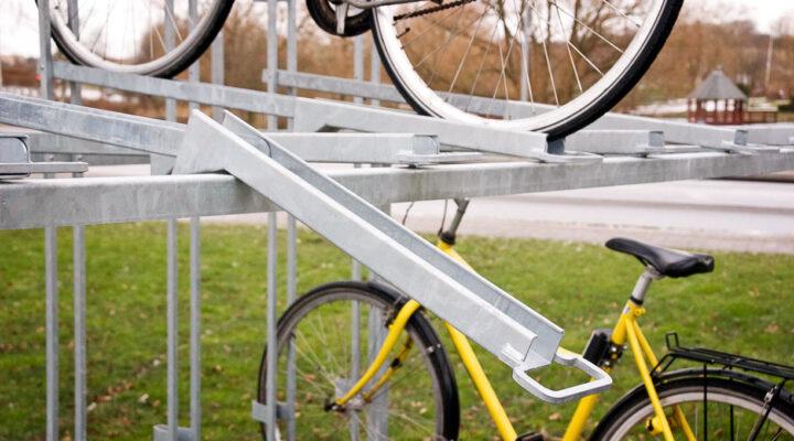 DOUBLE cycle rack